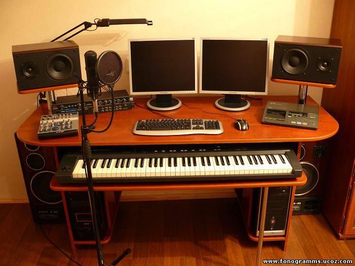Стол для музыкальной студии своими руками