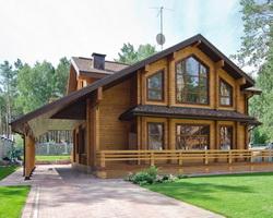 Достоинства деревянного коттеджа